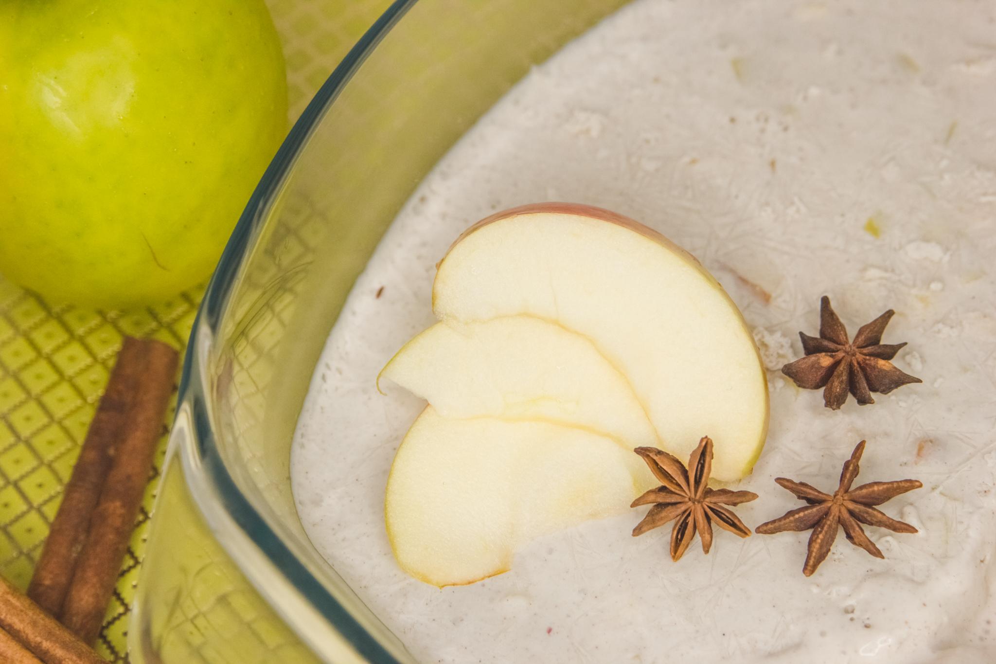 Apfelstrudel-Eiscreme