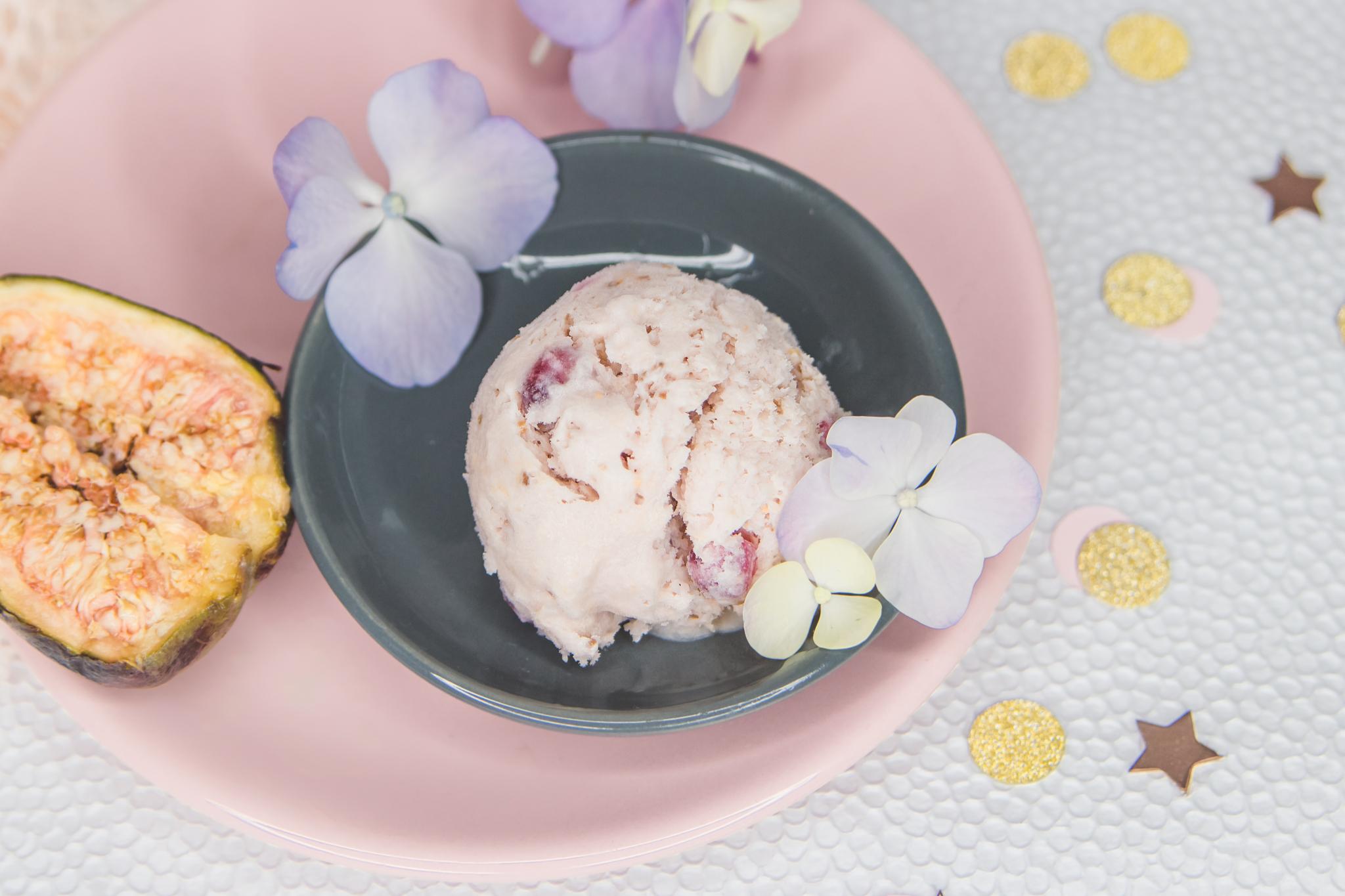 Feige-Granatapfel Eis